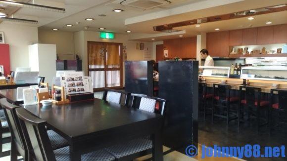 勢寿司の店内