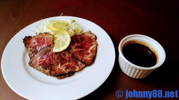 札幌市東区の洋食レストランゆっぴーの期間限定ローストビーフ