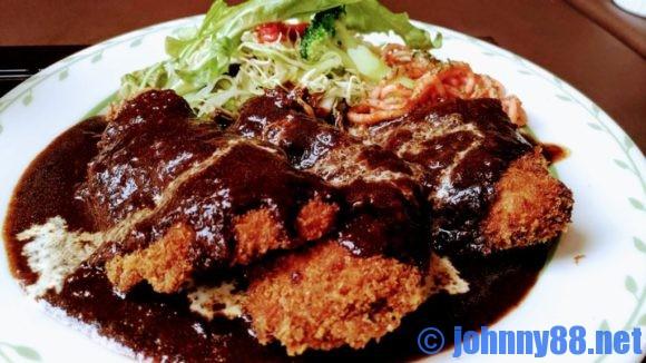札幌市東区の洋食レストランゆっぴーのヒレカツアップ画像