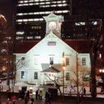 札幌時計台の夜景