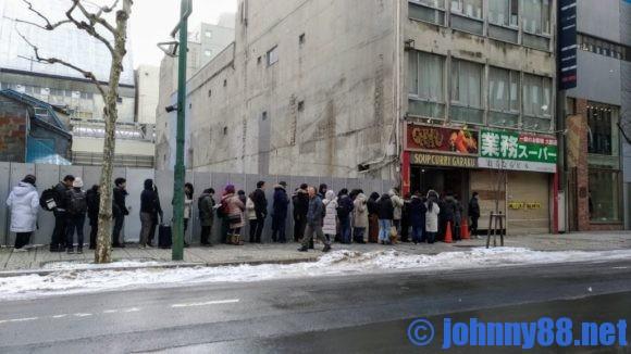 GARAKU本店の開店前の行列