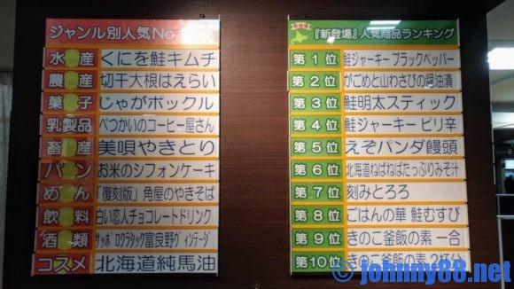 北海道どさんこプラザの人気商品ランキング