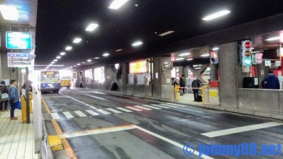 札幌駅バスターミナル構内