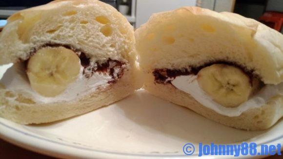 こっぺ屋のチョコクリーム&丸ごと一本バナナ