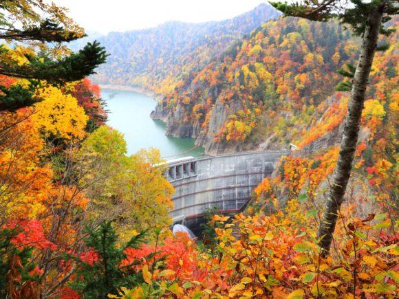 札幌のおすすめ紅葉スポット豊平峡