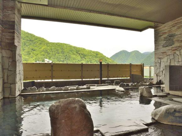 定山渓万世閣ホテルミリオーネの大浴場