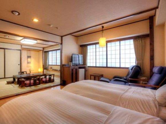ぬくもりの宿 ふる川の客室2