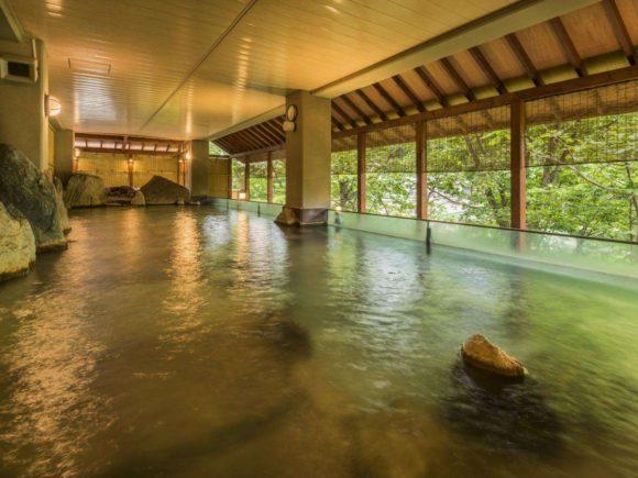 定山渓ビューホテルの大浴場