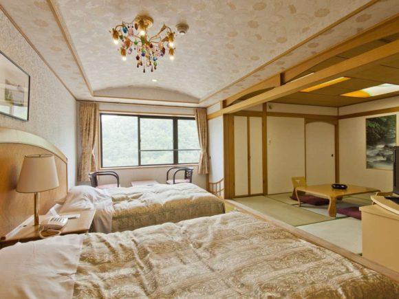 定山渓ビューホテルの客室