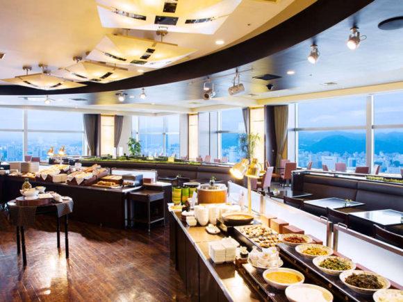 JRタワーホテル日航の朝食ブッフェ