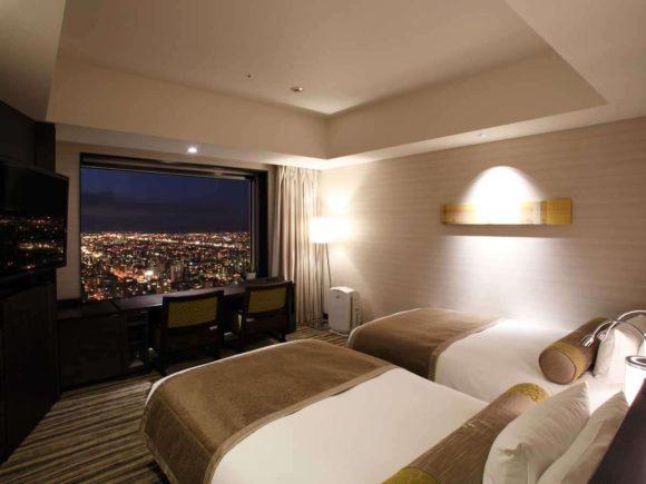 JRタワーホテル日航の客室