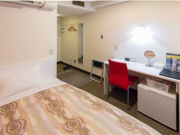 フレイムホテル札幌の女性専用客室