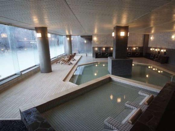 章月グランドホテルの大浴場
