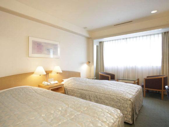 ジャスマックプラザホテルの客室