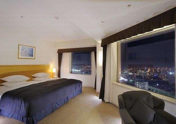 ホテルエミシア札幌の客室