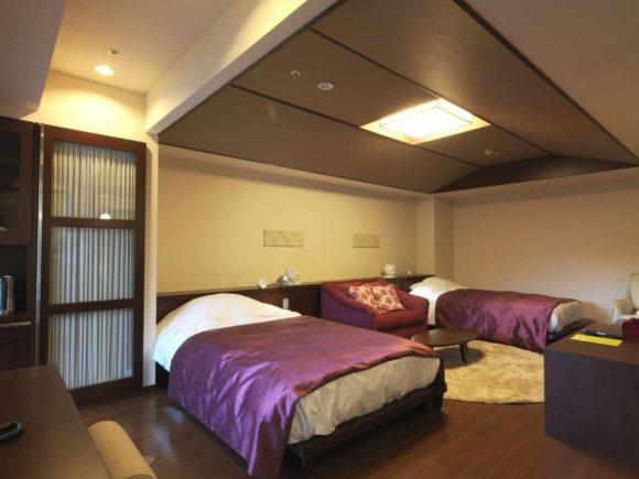 定山渓鶴雅リゾートスパ森の謌の客室