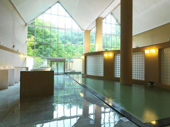 定山渓鶴雅リゾートスパ森の謌の内風呂