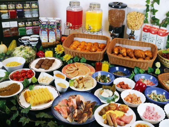 アパホテル札幌駅前の朝食ブッフェ
