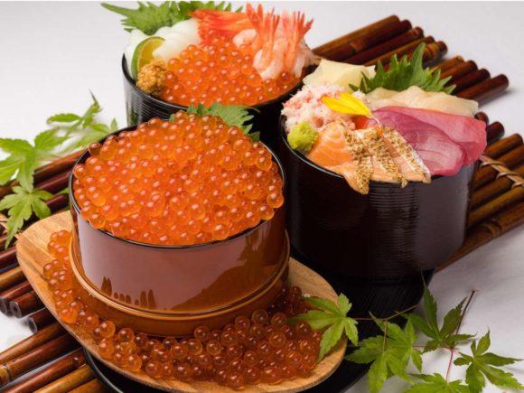 ベッセルイン札幌中島公園の朝食海鮮丼