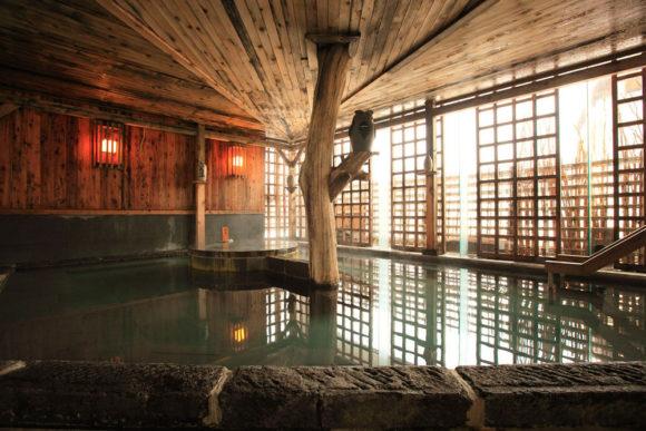 ぬくもりの宿 ふる川の大浴場1