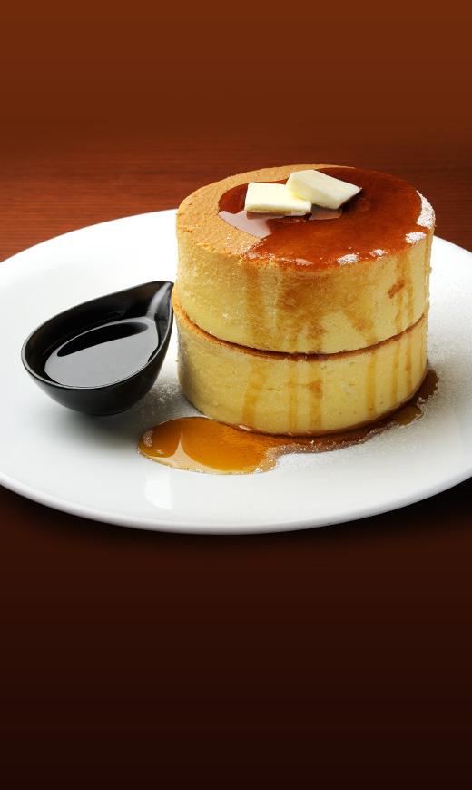 イシヤカフェのホットケーキ
