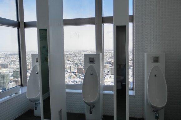 JRタワー展望室T38のトイレ